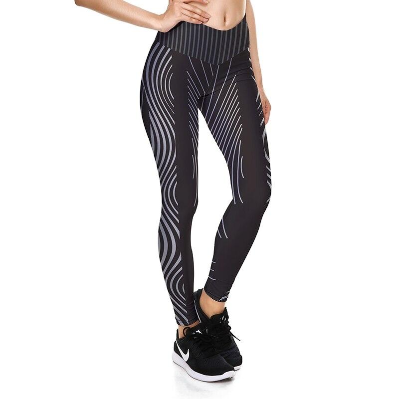 Women Push Up Sportswear Workout High Waist Polyester Leggings New Fashion Style