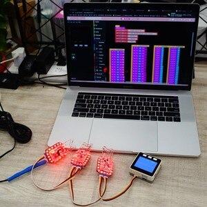 Image 4 - M5Stack 公式新蝶ランチャー rgb led とグローブケーブルアダプタ子供の魔法の小道具のおもちゃ