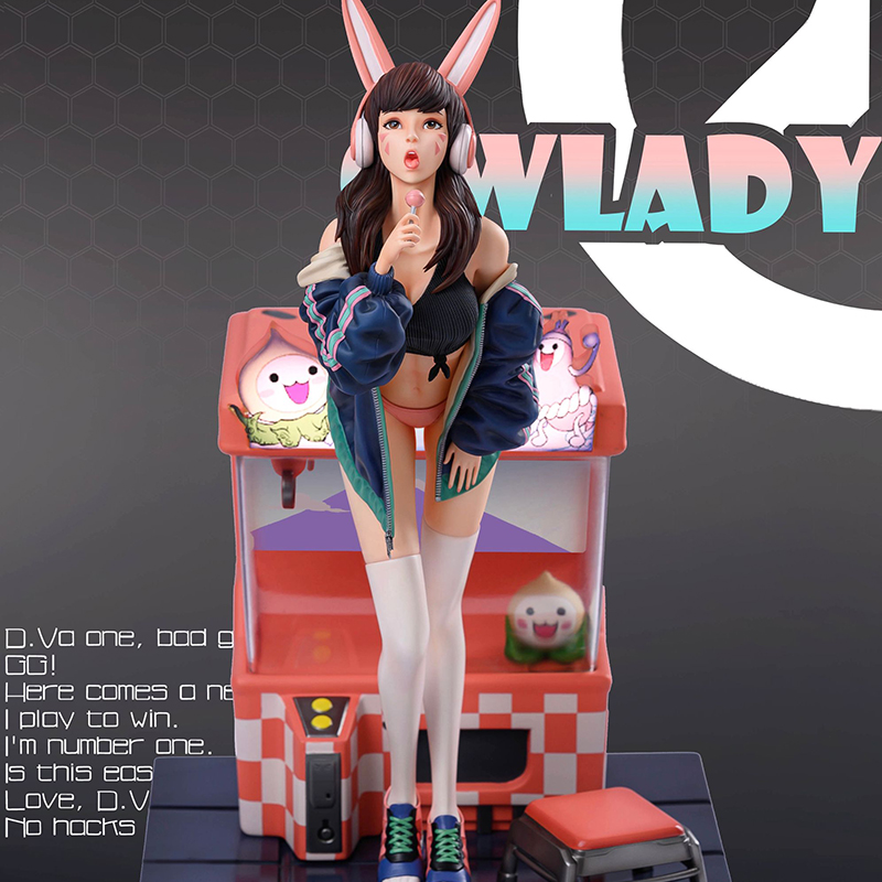 Pre-sale Of The First GK OW Lady-D.V.A. 1