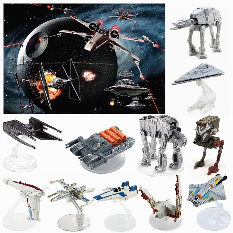 Star Wars: The Force Desperta liga brinquedo modelo Despertar Battleship Nave Espacial Aeronaves De Titânio Transportador Novo 2019