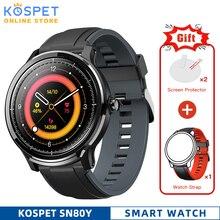Ip68 مقاوم للماء Smartwatch الرجال كامل اللمس رصد معدل ضربات القلب الطقس الرياضة المقتفي SN80 Y ساعة ذكية للنساء آيفون أندرويد