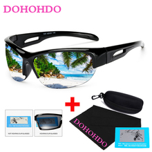 DOHOHDO Sunglasses Polarized Fishing Sun Glasses Goggles UV400 Sports Men