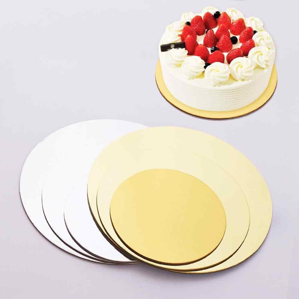 8 Inch Cake Boards 5Pcs Environmentally Friendly Cardboard Tray ...