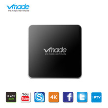 Android Tv Box 7.1 Os Uhd 4K H.265/Hevc Iptv M3U Tv Box 2Gb 16Gb Amlogic s905W Octa Core 1.5Ghz Wifi Slimme Set-Top Box