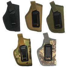 1pc Soft Paintball Pistol Side Arm Holster Camouflage Combat Tactics Gun Holder Holster Outdoor Tool Tactical Holster cheap CN(Origin) Nylon WHCN0118 Belt Clip