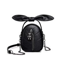 2020 new mobile phone bag embroidery chain handbag texture bear tassie su one-shoulder slant  weekend Small mini