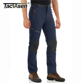 TACVASEN Men's Summer Outdoor Pants Quick Dry Lightweight Hiking Camping Pants Multi-Pockets Rip-stop Fishing Mountain Trousers 1