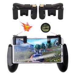 2 sztuk telefon komórkowy wyzwalacz gier L1R1 kontroler strzelanek dla PUBG noże zasady przeżycia kontroler Shooter przycisk spustu|Klawiatury do telefonów komórkowych|Telefony komórkowe i telekomunikacja -