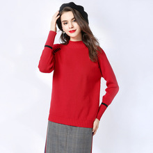 Fashion Women Ugly Christmas Sweater Winter 2019 Sweater Sleeve Women Sweaters and Pullovers Long Sleeve O-neck Women Clothing цены
