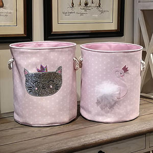 Laundry-Basket Toys Hamper Large Storage Home-Organizer Foldable Baby Dirty for Canvas
