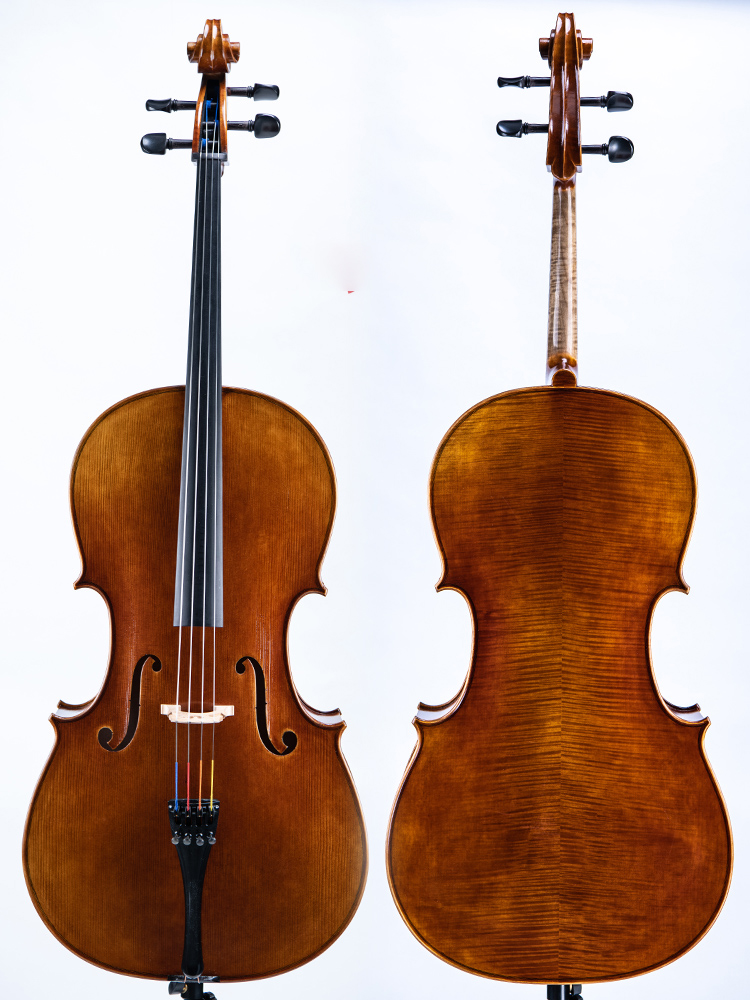 Super value! A copy of stradivara Saveuse 1726 4/4 Cello! all European woodbest model! old oil varnish! image