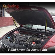 for Honda Accord 8TH Euro Acura TSX Inspire Proton Perdana 2007- Car Hood Cover Support Lift Shock Bracket Strut Bars Rods