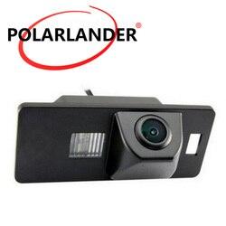 Kamera cofania CCD HD przewodowa dla Audi A4L (2013 2014) TT (2013 2014) A5 (2013) samochodowa kamera cofania 520TVL wodoodporna w Kamery pojazdowe od Samochody i motocykle na