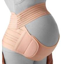 Bande pour soutenir le ventre de la femme enceinte,ceinture réglable qui soutient l'abdomen, soins de protection de maternité pour la grossesse,