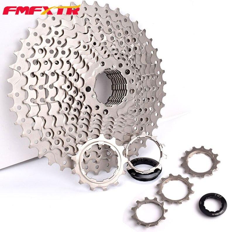 Bicycle FreeWheel for Repairing 8 9 10 11 Speed 11T 13T BMX Bike Free Fly Wheel Nickel 30 clicks Chrome High Quality