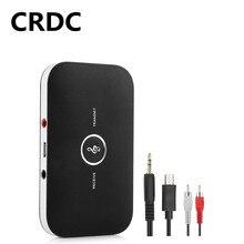 Bluetooth 5.0 kablosuz AV alıcısı vericisi alıcısı Stereo müzik 2 In 1 3.5mm AUX Jack RCA kablosuz adaptör araba kulaklık hoparlör için TV PC