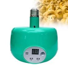 300w nova lâmpada de aquecimento fazenda animal luz quente controlador temperatura aquecedor manter aquecimento bulbo para animais de estimação leitões galinhas cão