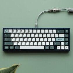 Ботанические колпачки для клавиш клонов PBT, колпачки для клавиш с подложкой в форме вишни для механической клавиатуры MX Switch GH60 GK61 GK64 96