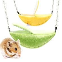 Hammock Hamster-Supplies Banana-Nest Hanging Warm Winter Cabin 1pcs Moon Boat-Shaped