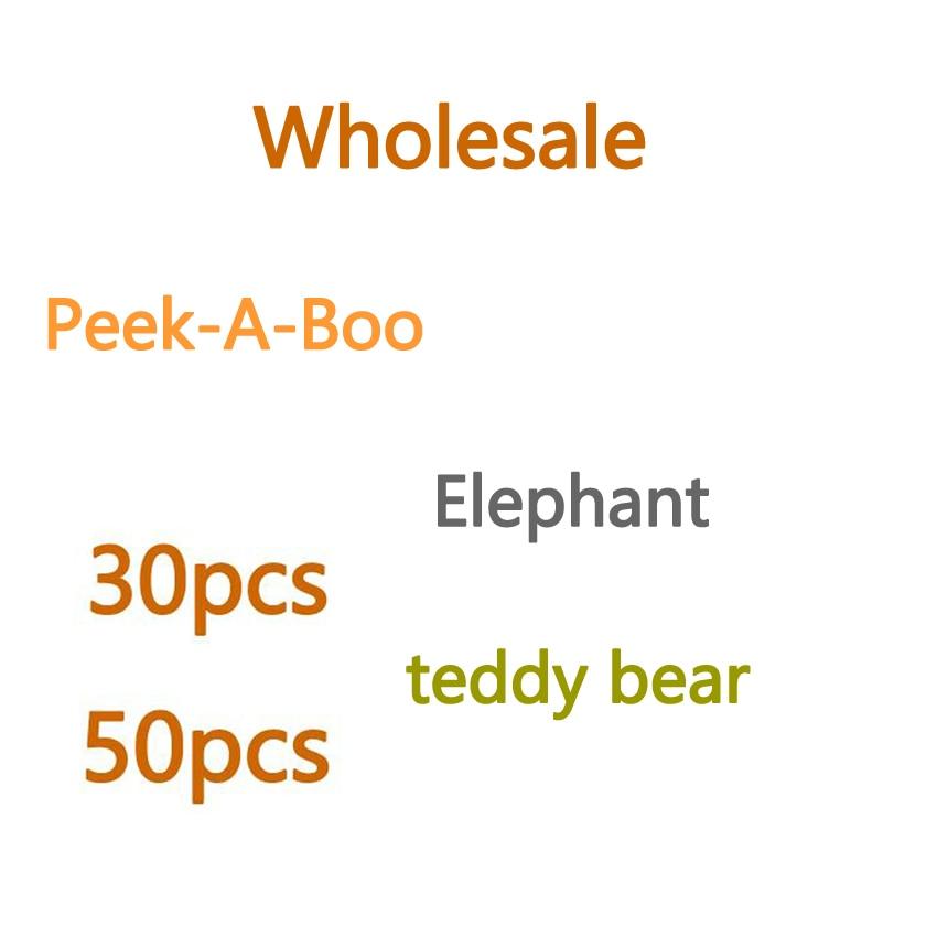 VIP 30cm PeekABoo Elephant Teddy Bear Plush Toy