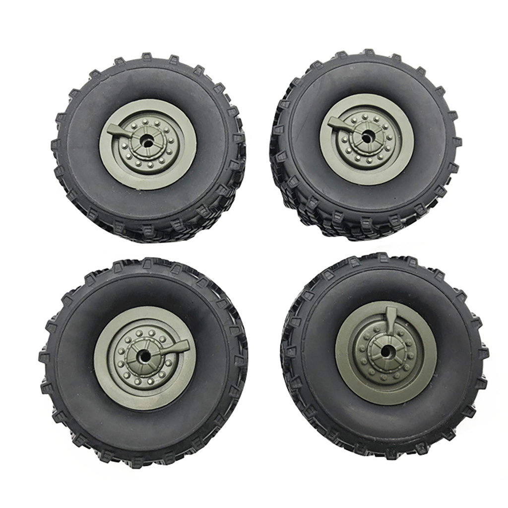4PCS Wheels Spare Parts For WPL B36 1/16 Remote Control Car RC Car Accessories RC Parts