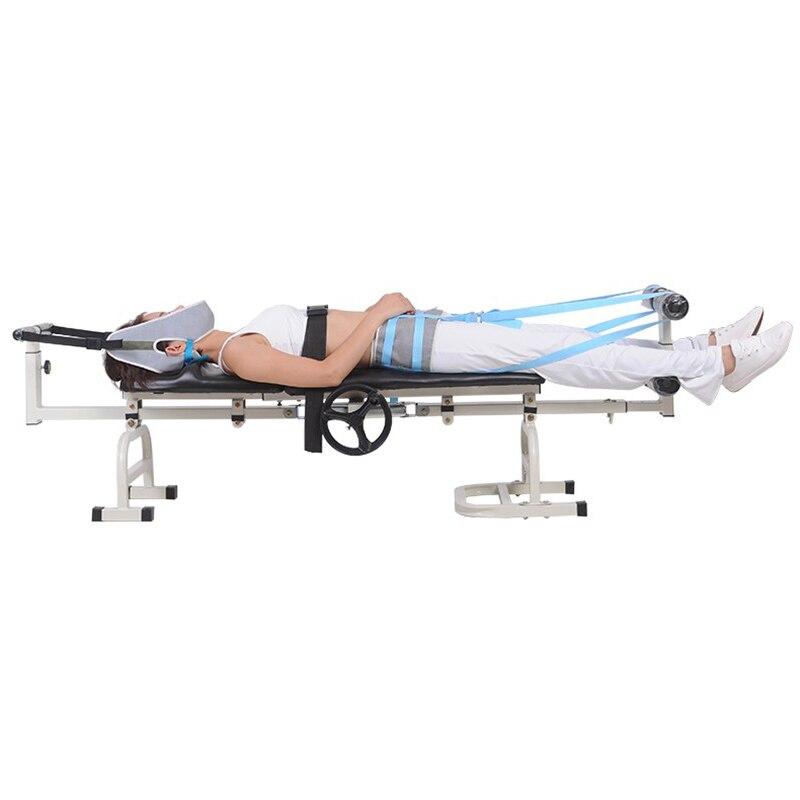 Camilla De Masaje Terapéutico Cama De Tracción Lumbar Cervical Estiramiento Corporal Columna Vertebral Tobillo Fatiga Menor Injurie Traction Bed Body Stretchcervical Lumbar Traction Bed Aliexpress