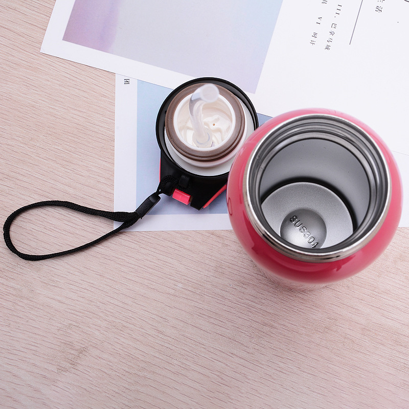H5716f68b6e004e82bbe81e68cbae8ef22 500ML Sport thermos water bottle Thermo Mug Stainless Steel Vacuum Flask mug with straw Insulation Cup Thermoses tthermal bottl