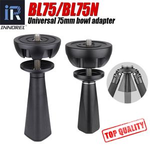 Image 1 - BL75 / BL75N 75mm Universal Bowl Adapter Metal Dome, High Quality CNC Technology, Used for Tripod Fluid Head Digital SLR Cameras