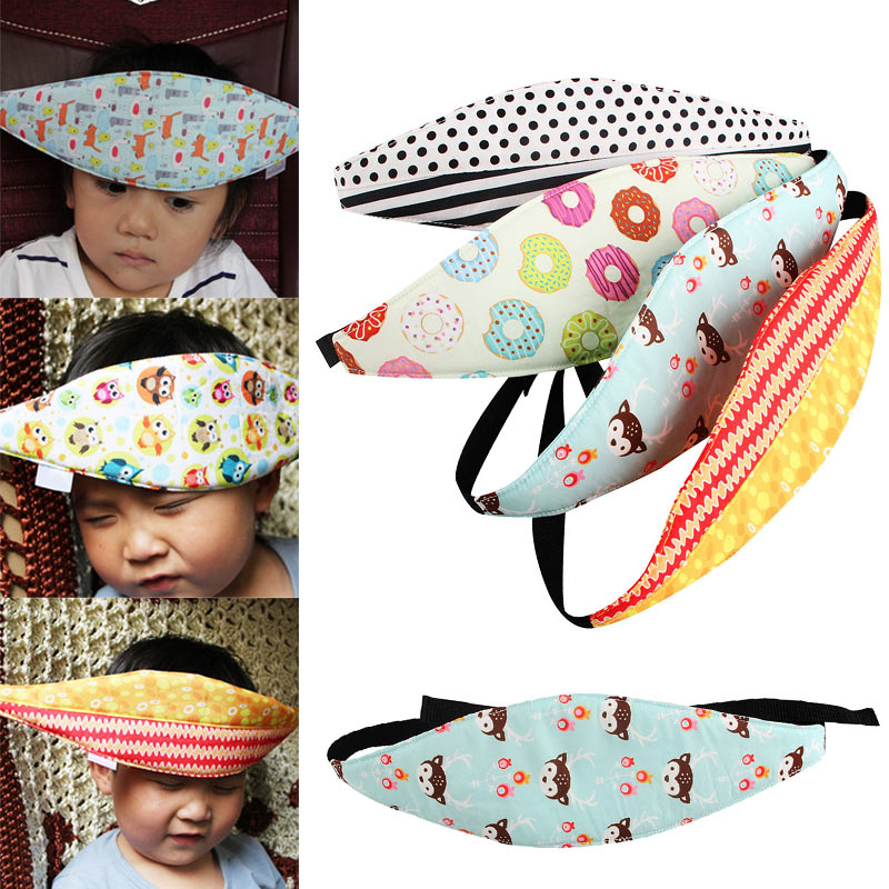 Car Seat Belt Child Safe Sleeping Protection Belt Baby Head Fixed Support Head Band High Quality