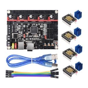 Image 3 - BIGTREETECH Placa de Control Turbo SKR V1.4, 32Bit, SKR V1.3, SKR 1,4, TMC2209, TMC2208, piezas de impresora 3D para Ender 3 Pro