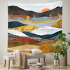 Abstract Landscape Wall Tapestry 1