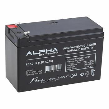 Bateria alfa bateria FB kwasowo-ołowiowa 12 v 7 2 Ah kwasowe miliampery na godzinę mA h 12 v 12 v akumulator akb 12 v 7 2Ah tanie i dobre opinie HAIMAITONG CN (pochodzenie) USZCZELNIONE 1840 G FB 7 2-12 7200 mAh Lead-acid Industrial purpose