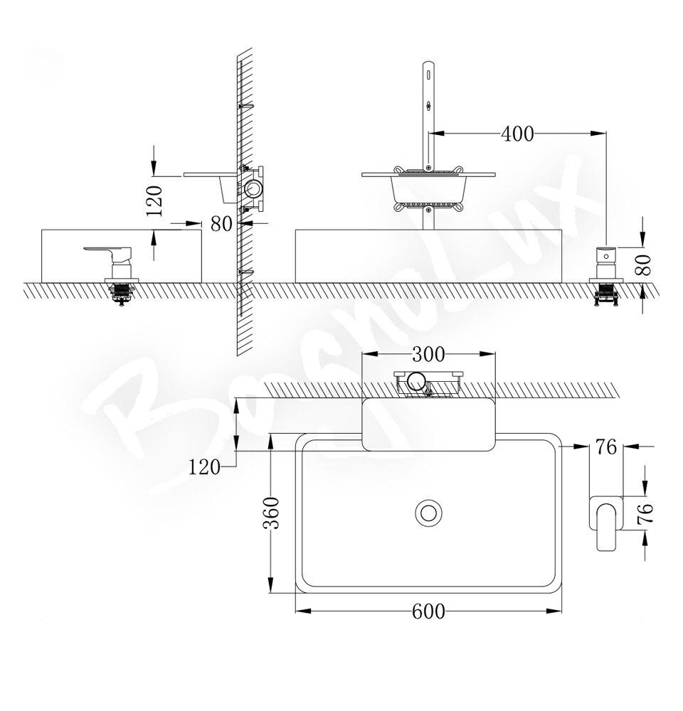 H5717de5a8696478998404fdde395f293N Waterfall Sink Faucet Shelf Basin Water Mixer Tap Quality Black Wall Mounted Brass Elegant Life Decoration Bathroom Hotel