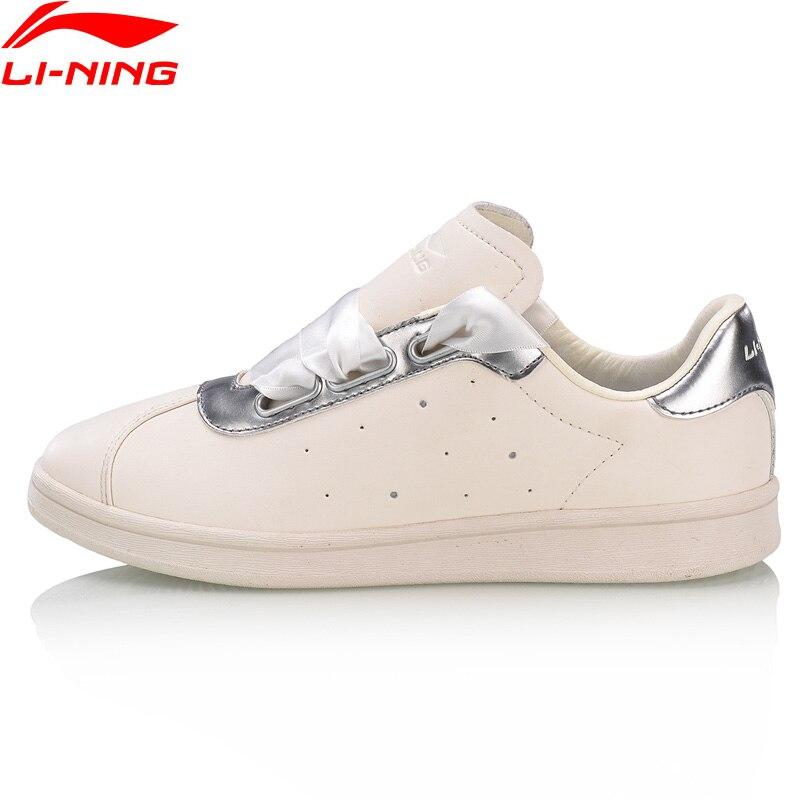 Li-Ning Для женщин LN вечность AI Lifestyle дышащие сетчатые женские подкладка Ли Нин удобная спортивная обувь стильные кеды AGCN066