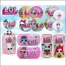 L.O.L.SURPRISE! LOLS Dolls Surprise Toys Beautiful Hair Doll DIY Manual Blind Box Model Doll Toy Gift Sent Random