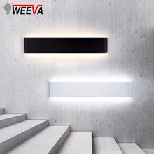 Lámpara Led de pared moderna, accesorio de iluminación para interior minimalista, aplique 6W 20W 24 W, cabecera de dormitorio, sala de estar, pasillo, escalera, decoración del hogar