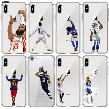 CR Aertemisi Stephen Curry Derrick Rose basketball Carmelo Anthony TPU Case Cover for iPhone11 pro max 6 6s 7 8 Plus X XS Max XR баскетбольные кроссовки adidas rose boost rose derrick