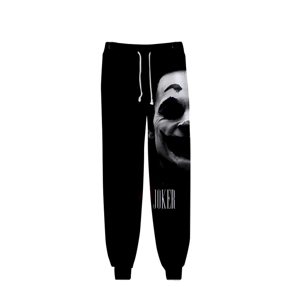 Frdun Tommy Joker Movie 2019 Men's Sweatpants High Quality Sports Tight Trousers Fashion Popular Trend Comfortable Casual Pants