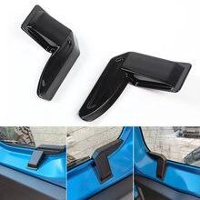 Cubierta protectora para parabrisas trasero de Suzuki Jimny Sierra JB64 JB74 2019 2020, accesorio de protección, color negro, 2 uds.