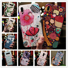 Para Moto borde más funda 3D flor en relieve silicona teléfono funda para Motorola Moto borde más funda relieve para Motorola Edge Plus(China)