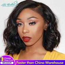 Perruque Lace Closure Wig Body Wave brésilienne – Ali Grace, cheveux naturels, 10 pouces, densité 150%, pour femmes
