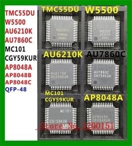 TMC55DU W5500 AU6210K AU7860C MC101 CGY59KUR AP8048A QFP-48