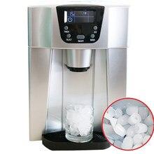 Máquina portátil para hacer cubitos de hielo, máquina automática multifunción para Fabricación de hielo y agua helada integrada