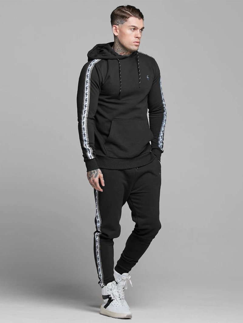 2020 Sport Suit Men Bodybuilding Jacket Pants Sports Suits Basketball Tights Clothes Gym Fitness Running Set Men Tracksuits