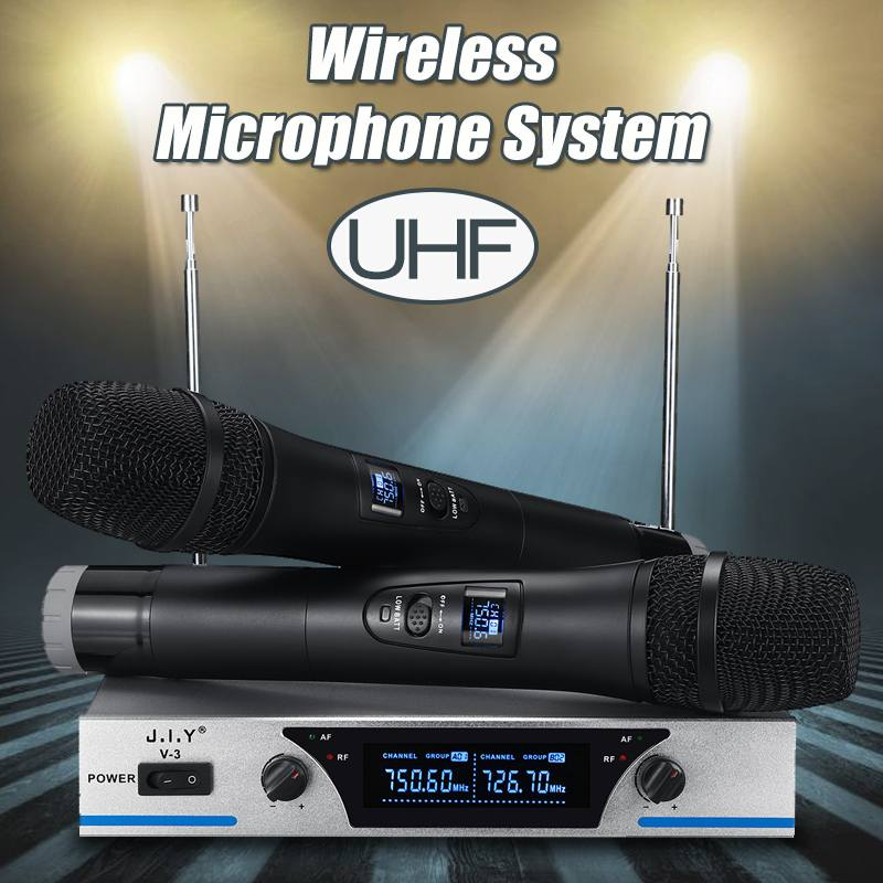 Microphone karaoké sans fil micro mikrofon lecteur karaoké KTV système karaoké son numérique mélangeur Audio Machine à chanter