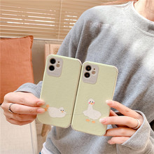 Fresh duck mobile phone case iphone 11 phone cases iphone 11 cases iphone xr case phone 12 cases iphone 8 plus case cheap Gerripuer CN(Origin) Half-wrapped Case Apple iPhones iPhone 7 iPhone 7 Plus IPHONE XS MAX iPhone11 iPhone 11 Pro Max iPhone12