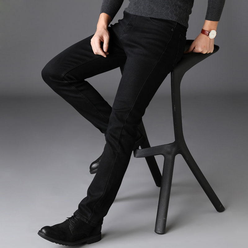 2019 Men Trend Capri Jeans Summer Thin Section Casual Skinny Korean-style Versatile 9 Points Cat Whisker With Holes