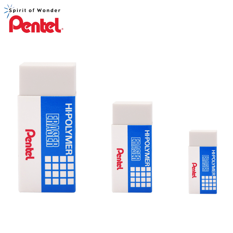 5pcs Pentel Eraser ZEH-03N / 05/10 Sketch Fine Art Painting Drawing Eraser Without Mark Student Stationery Supplies