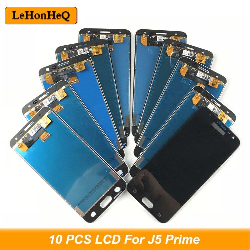10 шт. в партии ЖК J5 Prime для samsung J5 Prime ЖК дисплей сенсорный экран дигитайзер в сборе для samsung J5 Prime g570y ЖК экран Экраны для мобильных телефонов      АлиЭкспресс