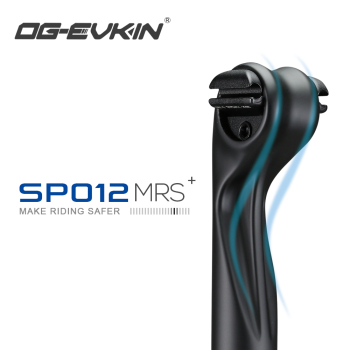 OG-EVKIN SP-012 Carbon Seatpost 27.2/31.6MM 15MM Offset MTB Or Road 400MM Seat Tube Bicycle Parts Mountain Bike  Ultralight full carbon fiber road mountain bike seatpost mtb bicycle seat post tube vertical 0 degree 27 2 30 8 31 6 400mm 3k ud